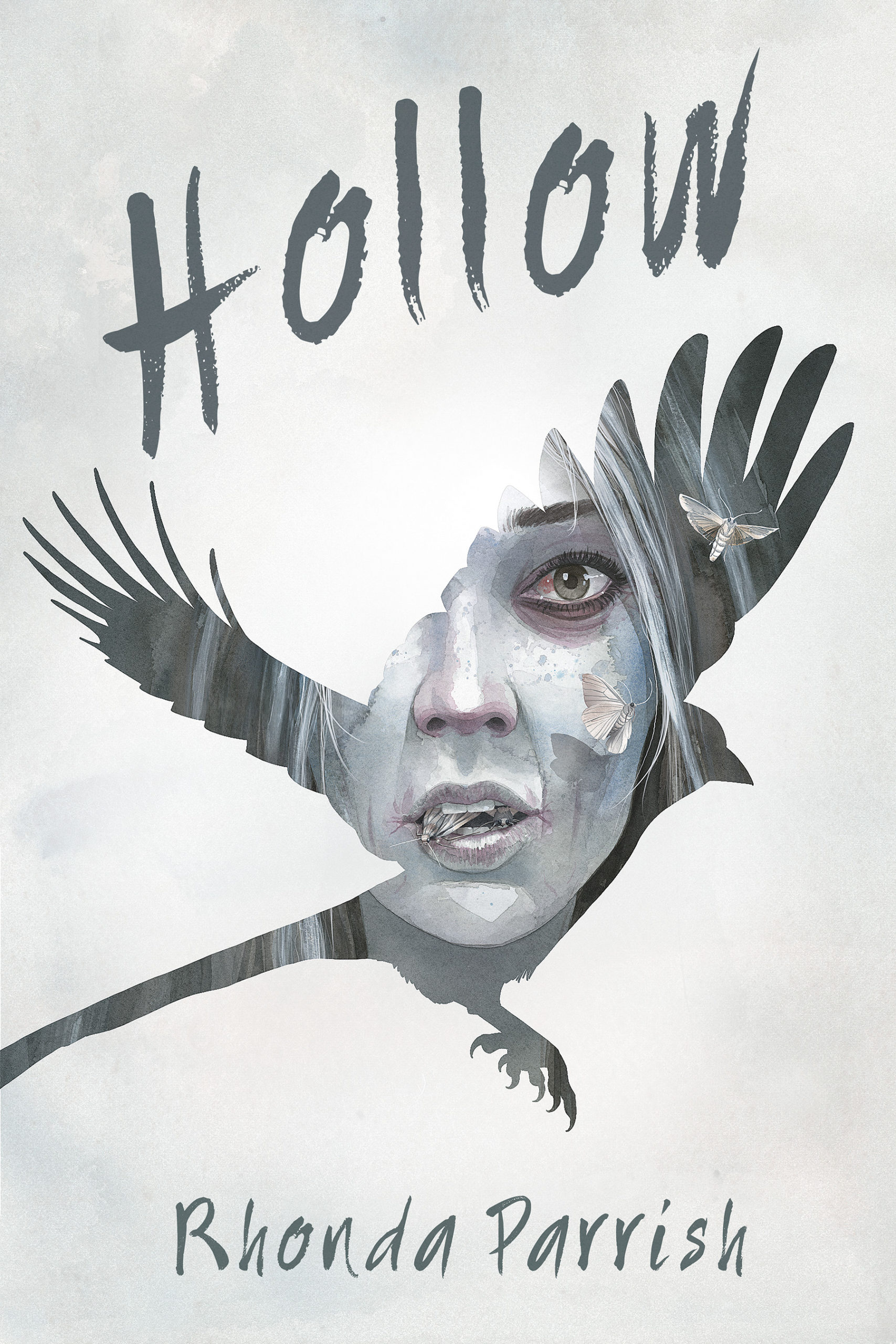 The cover image for YA thriller, Hollow