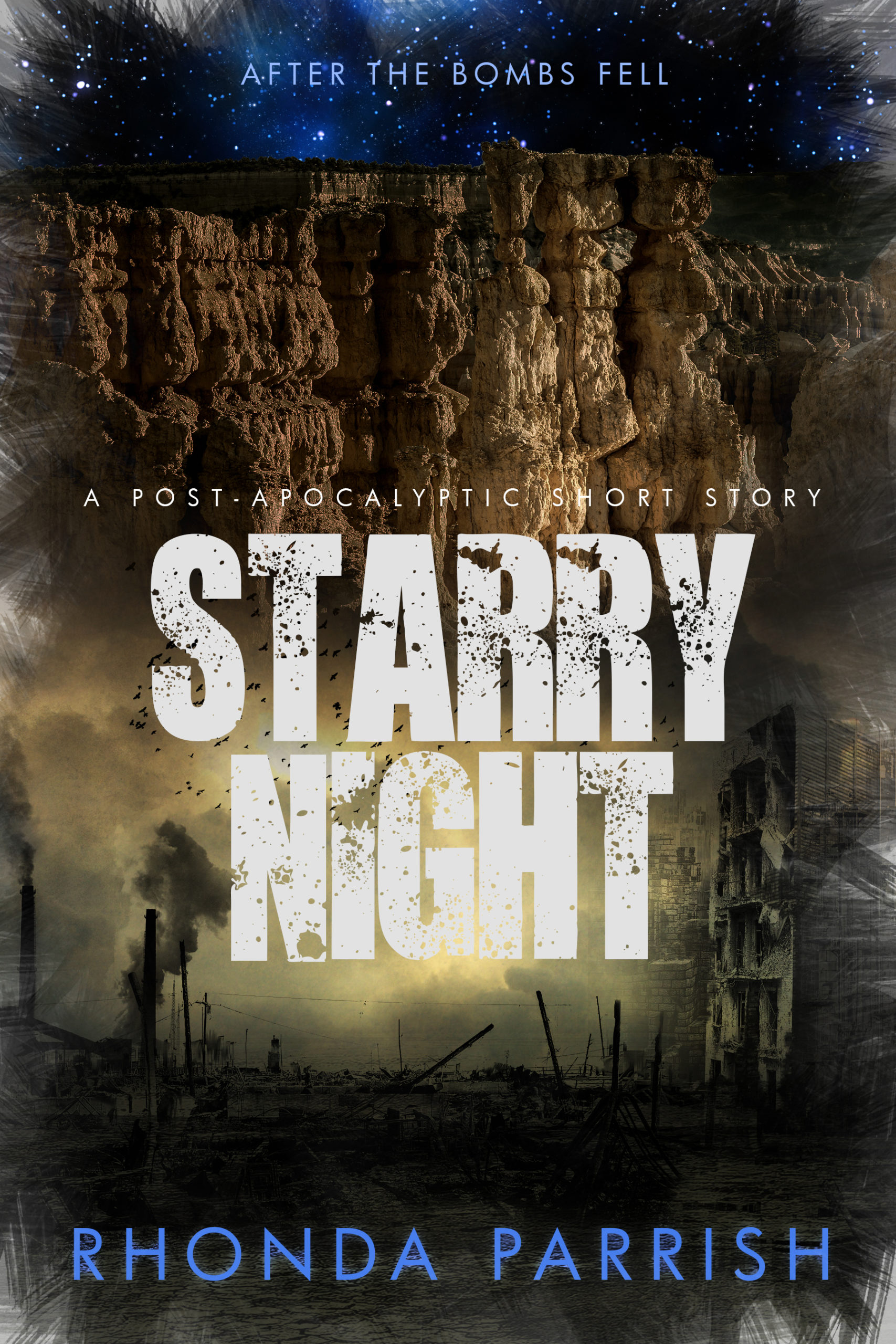 The cover of Starry Night